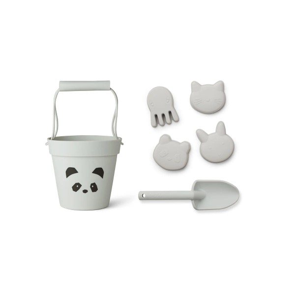 Dante Beach Set Panda Dumbo Grey