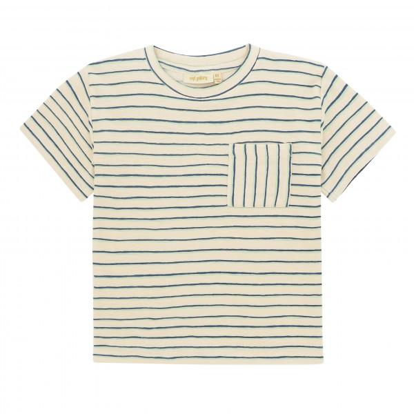 Soft Gallery T-Shirt Asger Gardenia AOP Flounce