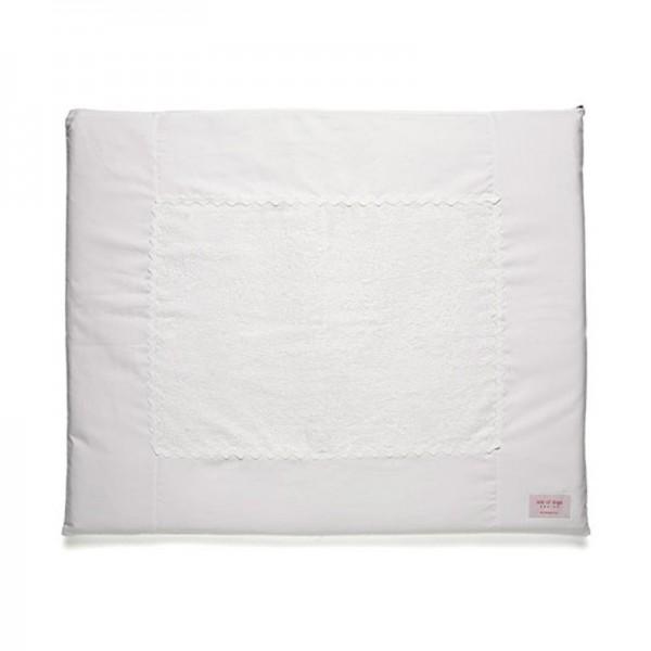 Wickelauflage komplett, 70x84cm Farbe: weiß
