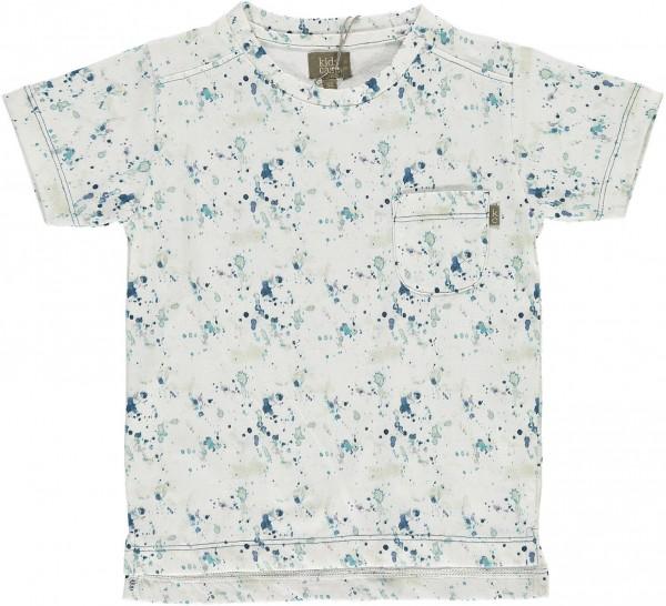 T-Shirt Water mit Druck blau