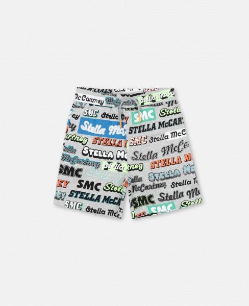 Stella McCartney Shorts mit Logoprint