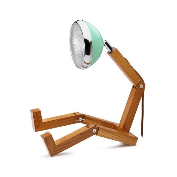 Mr. Wattson Original Table Lamp Tiffany Green