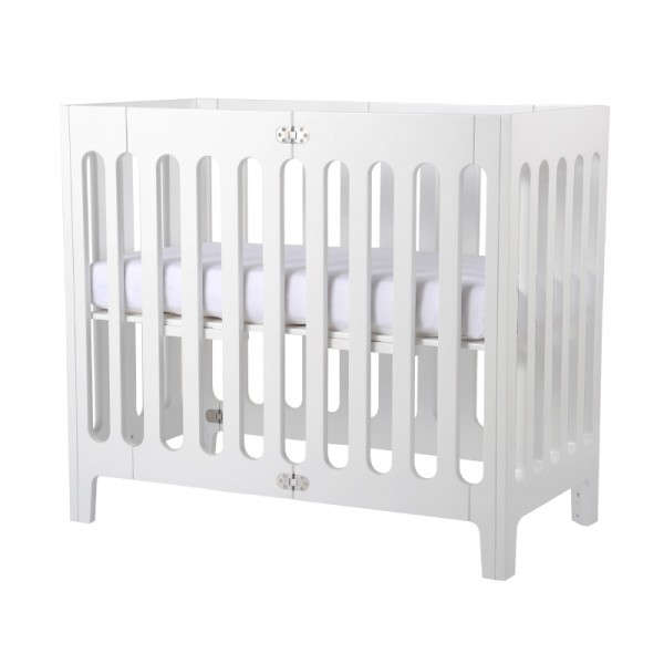 Bloom Crib Alma Mini Farbe: coconut white 45x90cm