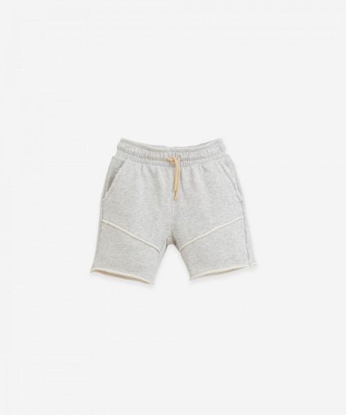 Play Up Fleece Shorts Grey Melange