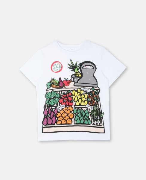 T-Shirt Pick Your Fruit Weiß