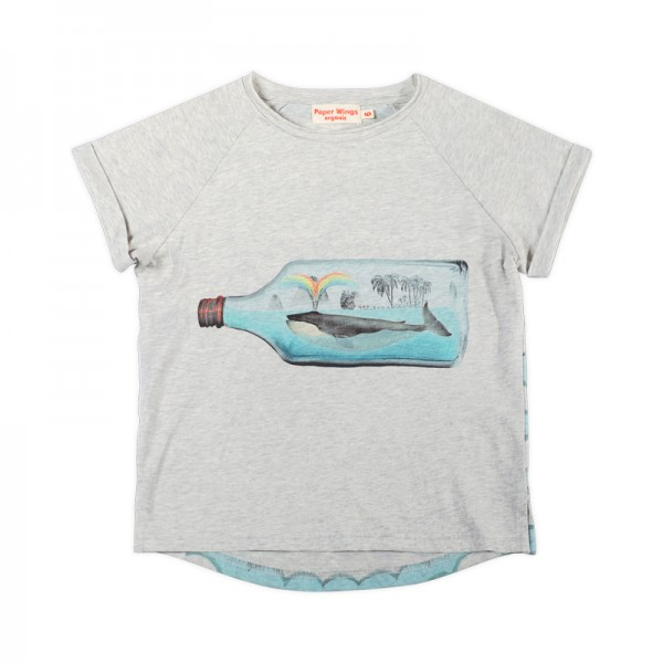Classic T-Shirt Bottled Up Grau