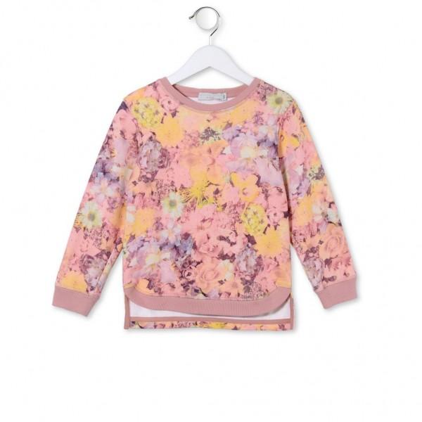 Sweatshirt Clare mit Blumenprint