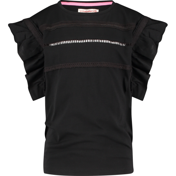 Vingino T-Shirt Idella Deep Black