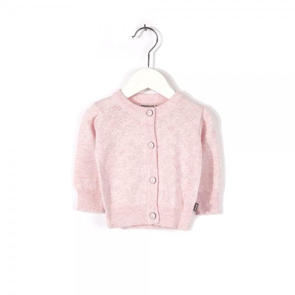 Strickjacke Chrystal Pink Melange
