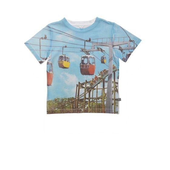 T-Shirt Arlo mit Cablecarprint