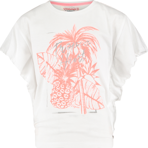 Vingino T-Shirt Halina Real White