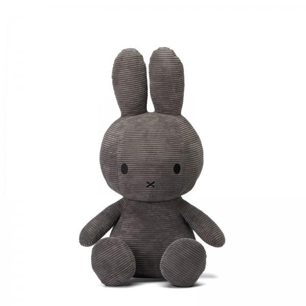 Miffy Sitting Corduroy 70cm Grey