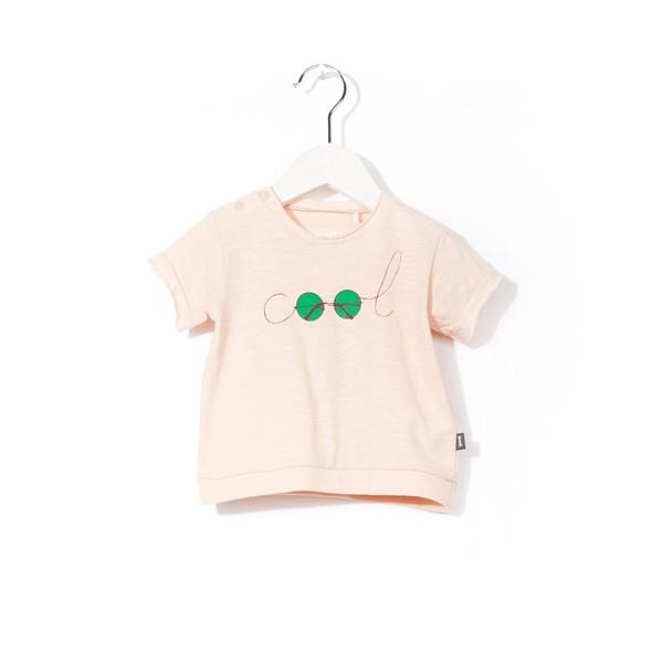 "T-Shirt mit Druck ""COOL"" Sunday Rose"