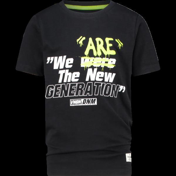 Vingino T-Shirt Hax Deep Black
