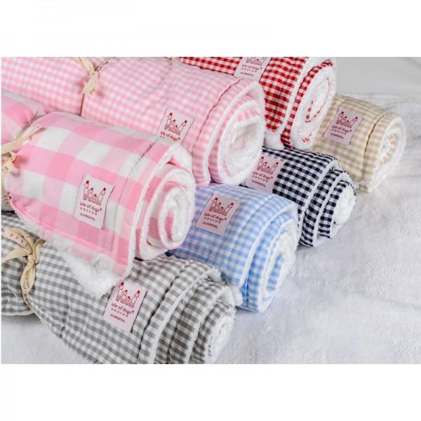 Babydecke aus Baumwolle, 80x100cm Farbe: pink