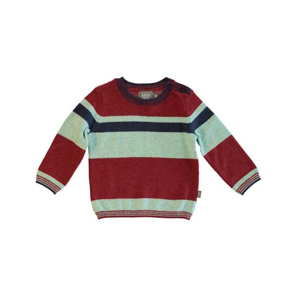 Pullover Lee gestreift Red Aqua