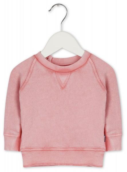 Sweatshirt im Vintagelook Rosa