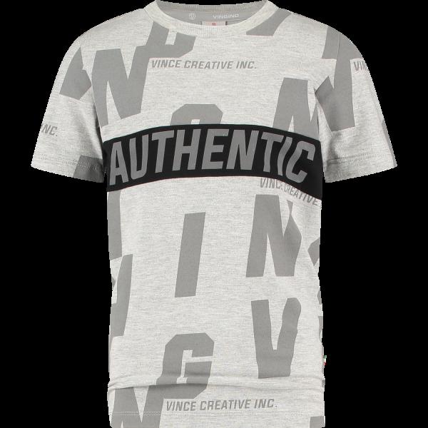 Vingino T-Shirt Hecello Grey Mele