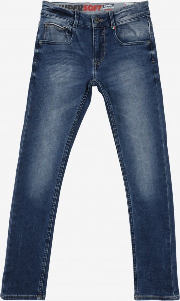 Jeans Amos Mid Blue Wash