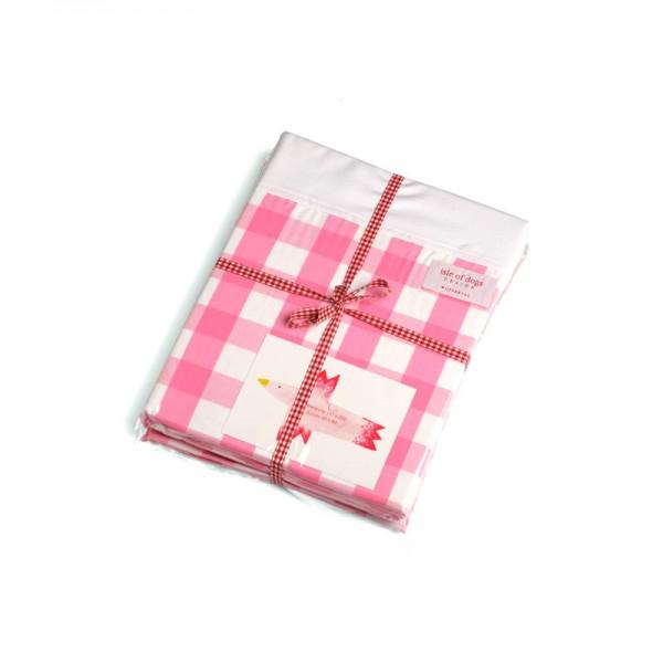 Juniorbettwäsche 80x80/135x200cm Farbe: pink