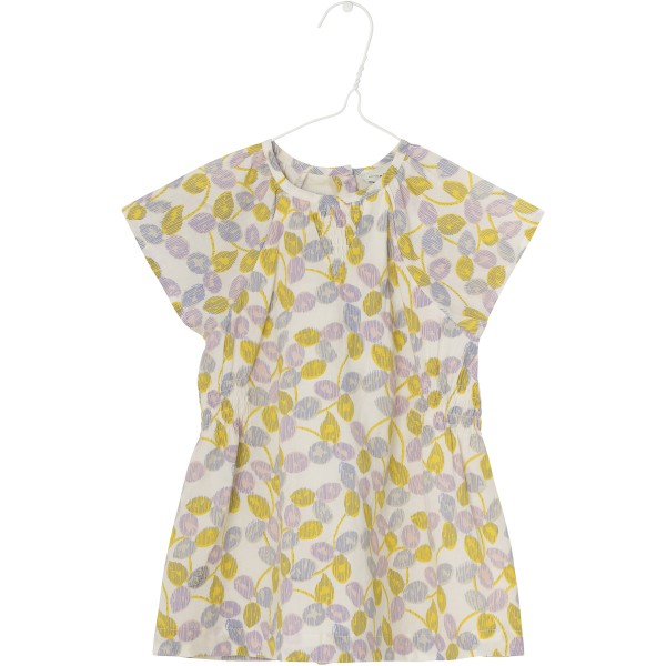 Kleid Chloé mit floralem Druck Yellow Lemon
