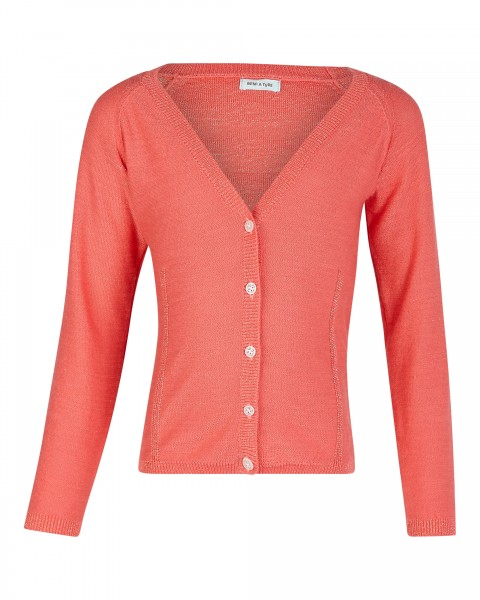 Strickjacke Beline Dubbery Rose