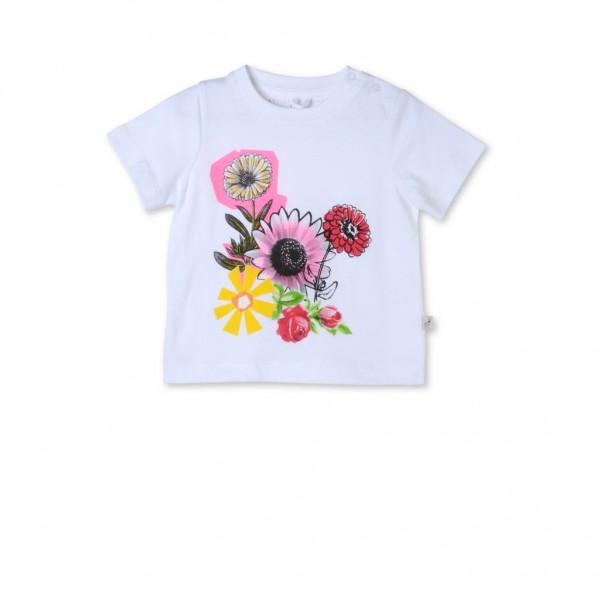 T-Shirt Chuckle mit aufgedruckter Blumencollage