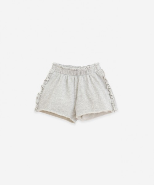 Play Up Fleece Shorts Grey Melange
