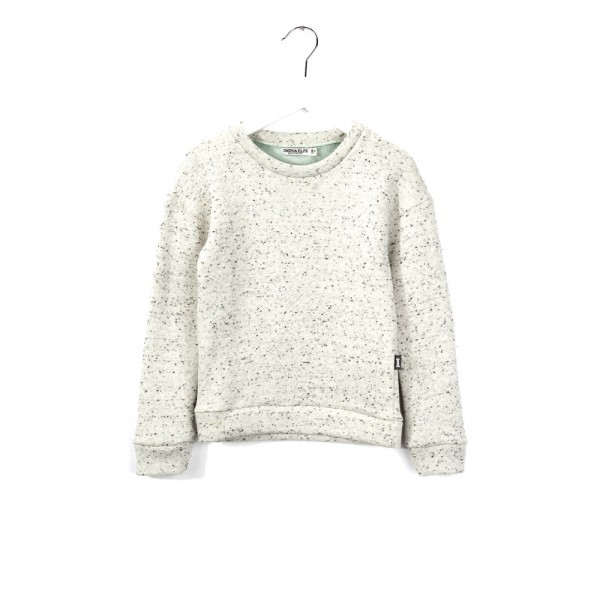 Sweatshirt White Mint