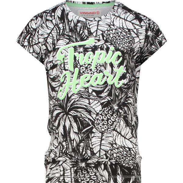 Vingino T-Shirt Hestie Deep Black