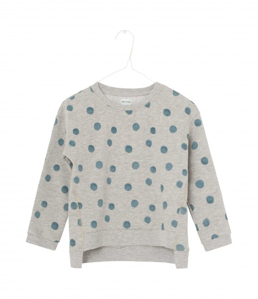 Sweatshirt Jackie Light Grey Melange